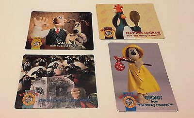 Wallace and Gromit cards -- 4