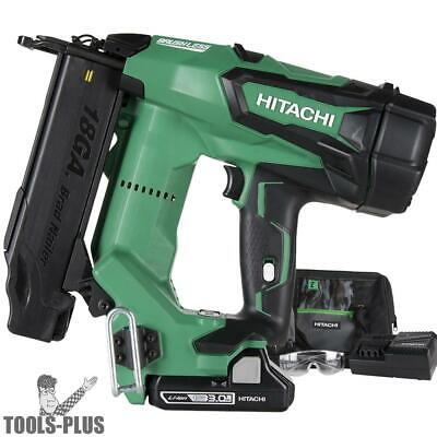 "2"" 18V Brushless Lithium Ion 18Ga Brad Nailer Hitachi NT1850DE New"
