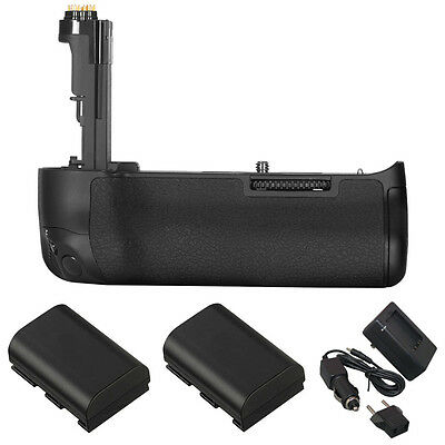 Vivitar Deluxe Power Battery Grip for Canon 5D Mark IV w/LP-E6 Battery & Charger