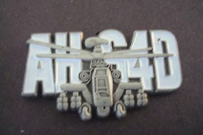 AH-64D APACHE HELICOPTER hat pin lapel pin
