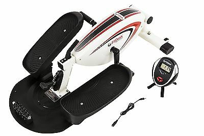 FitDesk Under Desk Elliptical Trainer White