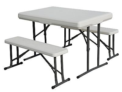 Stansport Heavy Duty Picnic Table and Bench Set 1