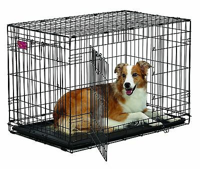 Midwest Home For Pets Life Stages Ace Double Door Dog Crate 36-Inch