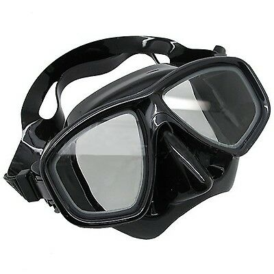 Scuba Choice Scuba Black Diving Dive Snorkel Mask Farsighted Prescription RX ...
