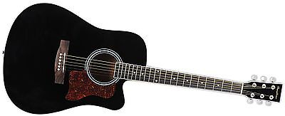 Spectrum AIL 128 Full Size Cutaway Acoustic Guitar Pack Black