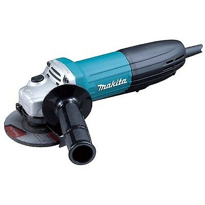 Makita GA4534 4-1/2-Inch Paddle Switch Angle Grinder Blue