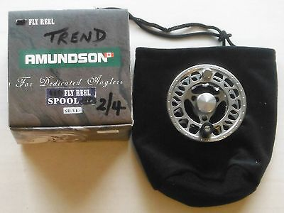 "Amundson ""Trend"" 2/4 Wt. Fly Reel Spare Spool New & Boxed"