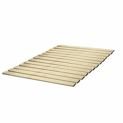 Classic Brands Wooden Bed Slats/Bunkie Board Solid Wood Any Mattress Type Ful...