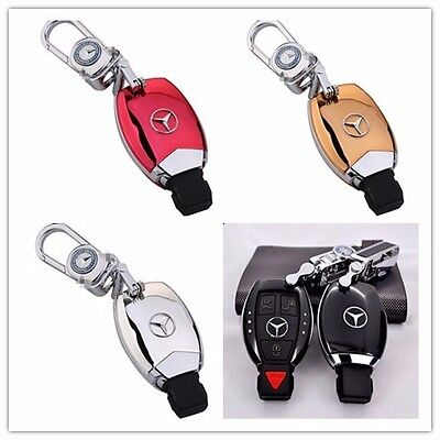 High-grade Car Key Holder Key Chain Ring KeyShell for Mercedes-Benz Series
