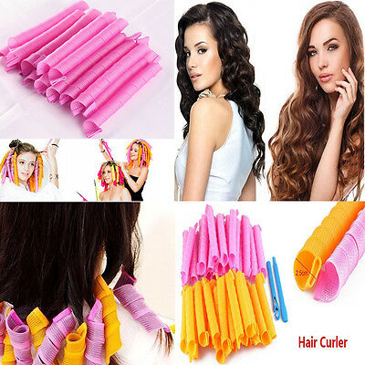 30/45/50/55 CM Magic DIY Hair Curlers Tool Styling Rollers Spiral Circle