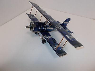 Beer can Aluminum handcrafted airplane/BUD LIGHT PLATIUM CAN (BI-PLANE)