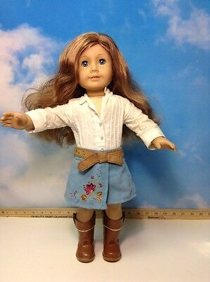 American Girl  Doll Nicki Blue  Eyes (8)
