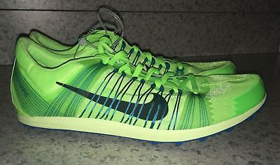 NIKE Zoom Victory XC 2 Lime Green Cross Country Track Spikes Shoes NEW Mens 11.5