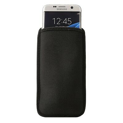 Neoprene Cell Phone Bag for Samsung Galaxy S7 Edge G935 & S6 Edge G925