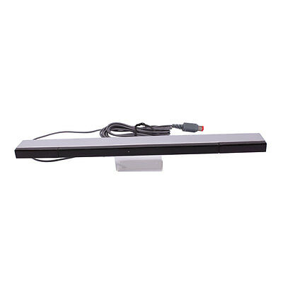 High Quality Wired Infrared Ray Sensor Bar For Nintendo Wii Console + Stand New