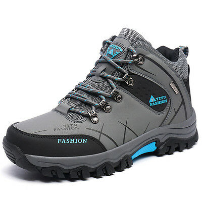 Hot Mens Big Size Trail Hiking Boots Waterproof Athletic Non Slip Outdoors Shoes