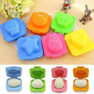Boiled Egg Rice Sushi Mold Bento Maker Sandwich Cutter Decorating Mould Mold