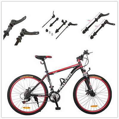 2x Road Mountain Bike Bicycle MTB Front Rear Wheel Hub Skewers Quick Release Kit