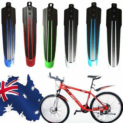 Bicycle Mountain Bike Front Rear Mudguard Set Tire Fender Durable Light Weight