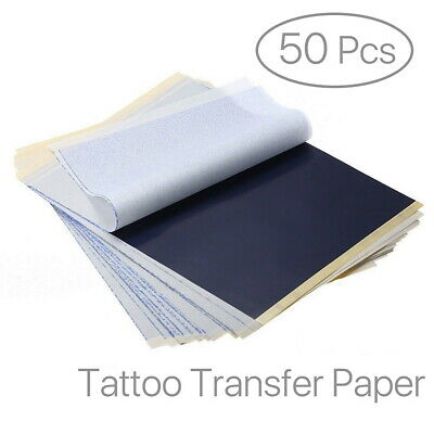 Pro Top Carbon Tattoo Transfer Stencil Kit Tracing Paper A4 Pack of 50