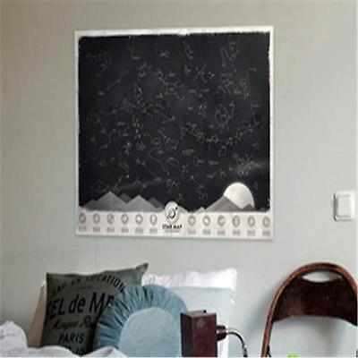 Luckies Star Map Poster Glow in Darkness Night Sky Constellations Poster  WJv