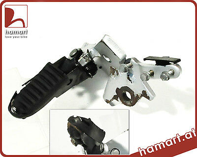 Honda Africa Twin XRV 750 RD04 Fußraste vorne links Footrest front left