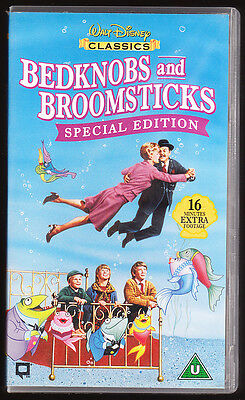 Disney Classics - Bedknobs And Broomsticks - Special Edition - Vhs Pal Uk Video
