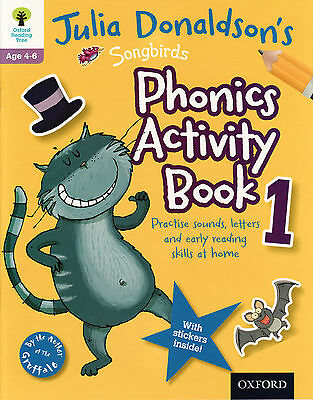 Oxford Children's Early Learning Songbirds 'phonics Activity Book 1' 4-6 Years