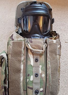 british military army GSR respirator gas mask filters haversack size 3/2 #9