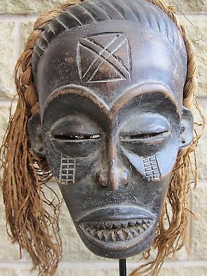 Tribal Mask from Democratic Republic of Congo. Early/Mid 20th Century