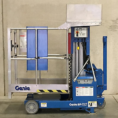 Genie Industries SP-12S Stock Picker Single Person Lift with Utility Platform