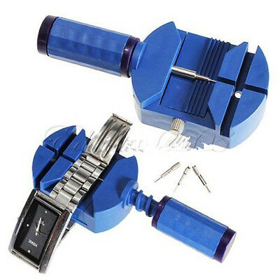 Blue Practical Watch Band Link Strap Pin Remover Adjust Repair Tools YRx
