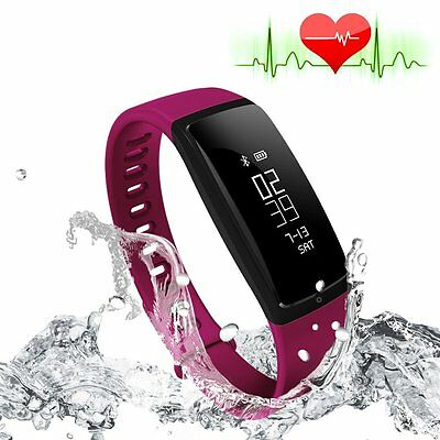 Riversong Fitness Tracker Heart Rate Monitor Di Pressione Sanguigna Bracciale Se