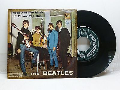 Beatles Rock And Roll Music - I'll Follow The Sun Parolphon Qmsp 16371 Discreto
