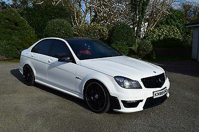Mercedes-Benz C63 Amg Auto Saloon With Only 44,500 Miles