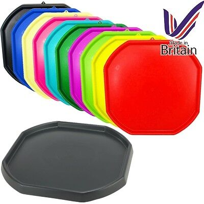 Large Plastic Builder Children Kids Play Colour Mixing Tray Cement Mortar Sand