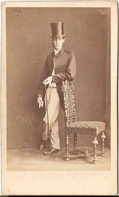 Herbert Watkins CDV photo Feiner Herr - London 1860er