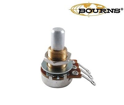 Bourns Mini Potentiometer, Solid shaft, 250K/500K, Audio Taper