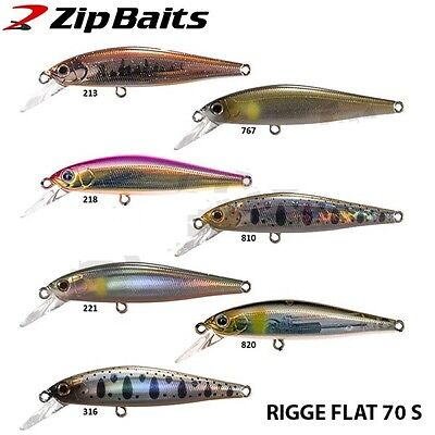 Promo: Poisson Nageur Zip Baits Rigge Flat 70S 218