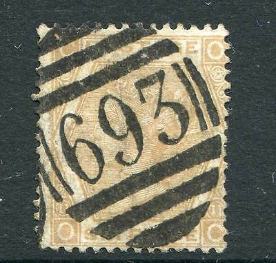 GB 1872-73 6d pale buff SG123 plate 11 fine used (OO)