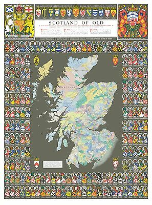"""Scotland of Old  : 40"""" x 30"""" Large Photographic Poster Print"""