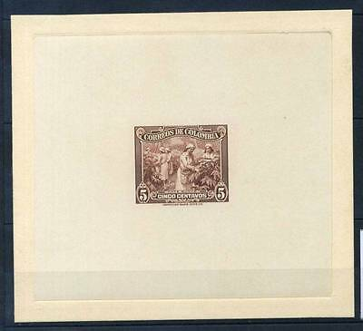 17-03-05982 - Colombia 1939 Mi.  - MNH 100% Proof Cafe suave