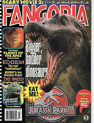 Fangoria #204 (2001, 84 pages, full colour) good as new - very very scarce