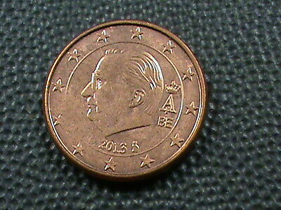 BELGIUM    1  Cent     2013    UNCIRCULATED