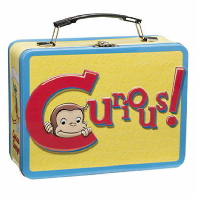 Curious George Large Tin Lunch Box 49070 - NEW - FREE SHIPPING