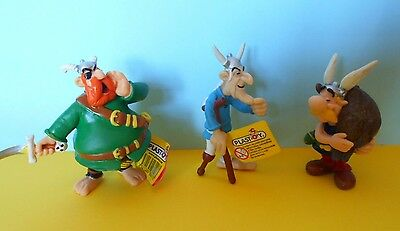 Lotto  3 Figure Asterix Playstoy