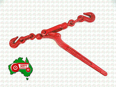 """High Tensile Load Binder With Hooks To Suit 6mm 1/4"""" Chain 1700 kg Lashing AS/NZ"""