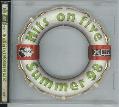 Hits On Five Summer 98 The Best Of House Music  Rti 13202 Cd Ottimo Usato