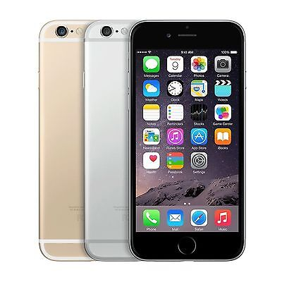 Apple iPhone 6 (AT&T/T-mobile) SmartPhone Gold Silver Space Gray 16GB 64GB