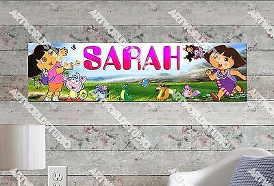 Personalized//Customized Hello Kitty #2 Name Poster Wall Art Decoration Banner